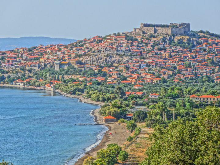 Molyvos Lesvos Greece
