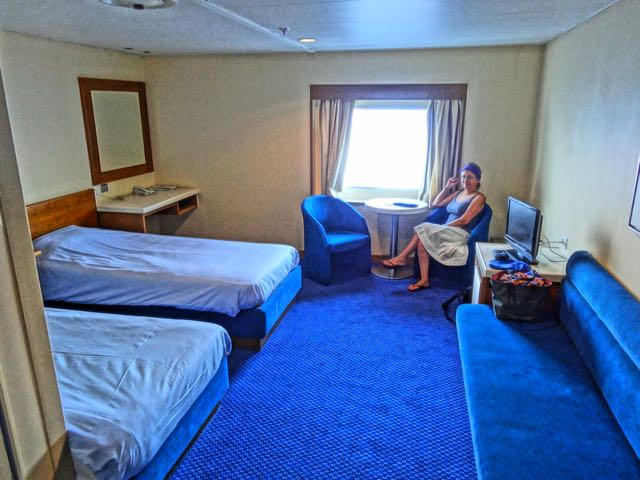 Lux Cabin on the Ariadne