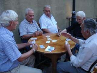 Playing cards in Vatousa
