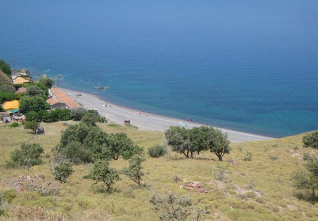 Golden beach, Lesvos
