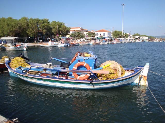 Sardine boats, Skala Kaloni