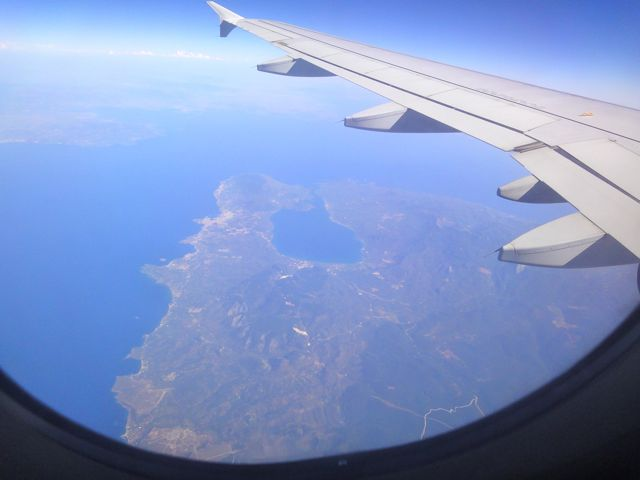 Flight to Lesvos