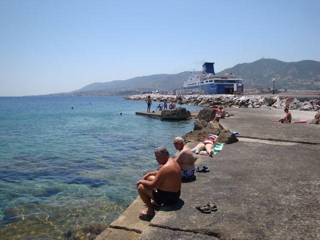 Mytilini harbor