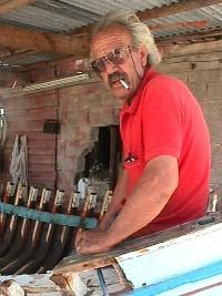 Boat builder Psaradelis, Kaloni, Lesvos