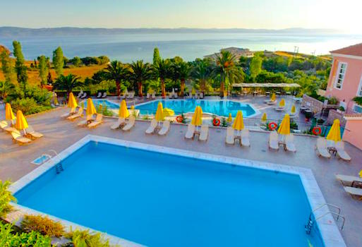 Hotels in Lesvos, Sunrise in Molyvos